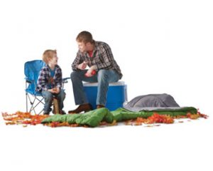 camping-father-son